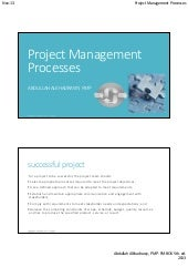PMP PMBok 5th Project management pr...