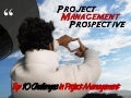 Project Management Prospective