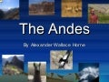 Project Andes Mountains