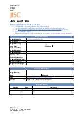 Project plan template v3.0 jan 2012