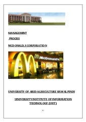 Management project by Arid aggricul...