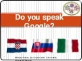 eTwinning - Do you speak Google