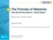 The Promise of Networks: How Social...