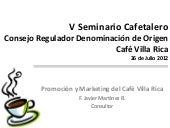 Promoción y Marketing del Café Vill...