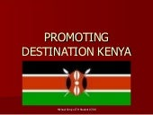 Promoting Destination Kenya