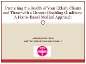 Promoting The Health Of Elderly And...