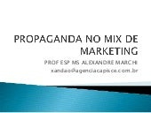 Propaganda no mix de marketing