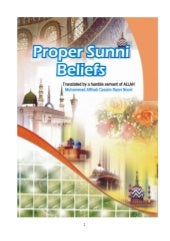 Proper sunni-beliefs-authentic