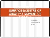 Properties of surfaces-Centre of gr...