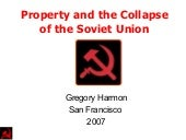 Property and the Collapse of the So...