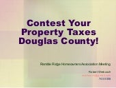 Douglas County Property Tax Contest...