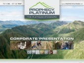 Prophecy Platinum Corp. video