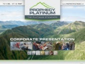 Prophecy platinumcorppresentation