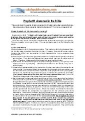 Prophet muhammad in the bible   mos...