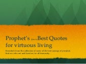 Best Quotes of Prophet Mohammad (pbuh)