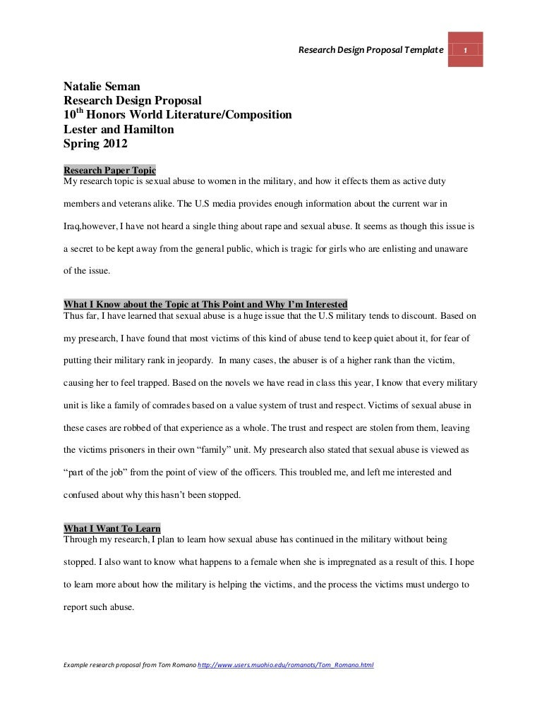 Sample Proposal Essay Cover Letter Research Proposal Essay Example