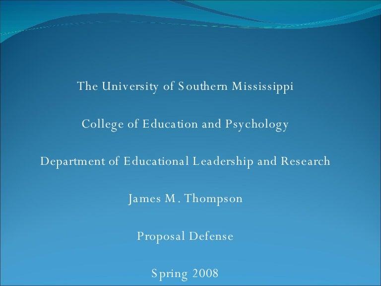 Dissertation defense presentation ppt