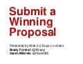 Web 2.0 Expo Ny--How to Submit a Winning Proposal