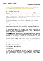 Proposta document plec comissio de ...