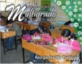 Propuesta educativa multigrado 2012