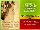 Introduction to Literature (Poetry,...