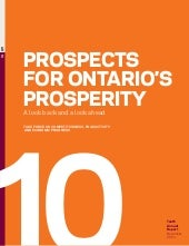Prospects For Ontario 2011 Task For...