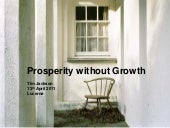 Prosperity without growth tim jacks...