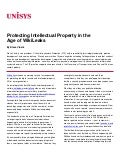 Protecting Intellectual Property in the  Age of WikiLeaks
