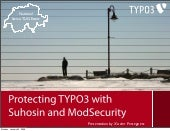 Protecting TYPO3 With Suhosin And M...