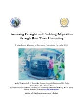 Assessing Drought and Enabling Adap...