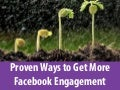 Proven ways to get more facebook engagement
