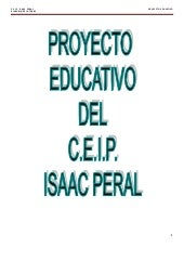Proyecto educativo definitivo. Sept...