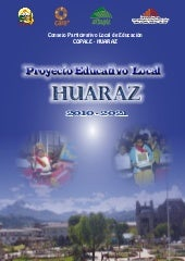 Proyecto educativo local huaraz