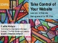 Take Control of Your Website for PR Pros! PRSA Southeast District Conference