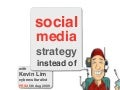 "PRSA: Social Media - ""Strategies instead of Tools"""