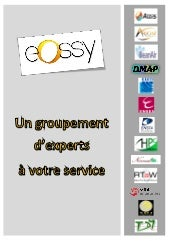 EOSSY, un groupement d'experts à vo...