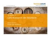 Gamification in der Hotellerie - Vo...
