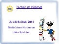Präsentation Internetsicherheit Sommerleseclub