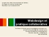 Webdesign et pratique collaborative