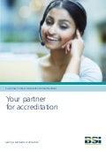 BSI Brochure: Customer Contact Association Global Standard - Your partner for accreditation