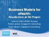 How Much can eHealth Affect the Eco...