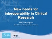 Different Interoperability Needs fo...