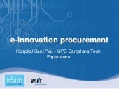 e-Innovation procurement