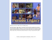 The Pseudo Legacy - Chapter 2, Part 3