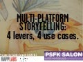 Multi-Platform Storytelling: 4 levers, 4 use cases.