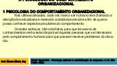 Psicologia do comportamento