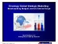 Oncology Global Strategic Marketing