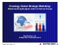 Oncology Global Strategic Marketing Report Summary