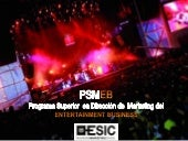 Marketing Entertainment Business ESIC