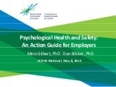 Psychological Health and Safety: An...